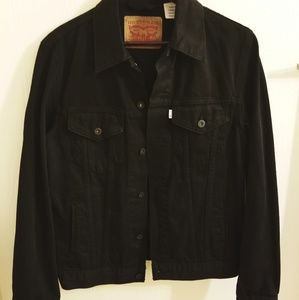 Black Levi Trucker Jacket